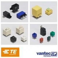 Классификация промышленных реле фирмы TE Connectivity